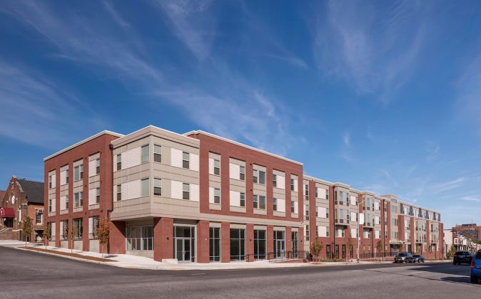 Exterior Image of North Avenue Gateway Apartments